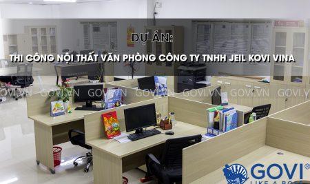 Thi công nội thất – Dự án văn phòng tại Ninh Bình