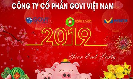 Bung tràn cảm xúc trong tiệc YEAR END PARTY 2018 của GOVI GROUP